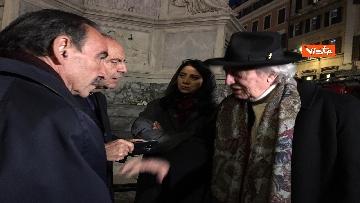 2 - La Colonna dell'Immacolata in tutto il suo splendore illuminata da Vittorio e Francesca Storaro