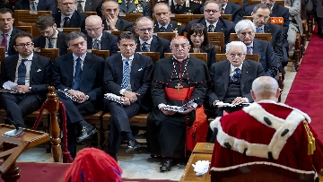 8 - Mattarella partecipa ad Assemblea Generale pubblica e solenne della Corte Suprema di Cassazione