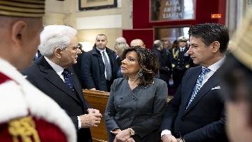 3 - Mattarella partecipa ad Assemblea Generale pubblica e solenne della Corte Suprema di Cassazione