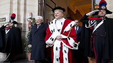 13 - Mattarella partecipa ad Assemblea Generale pubblica e solenne della Corte Suprema di Cassazione