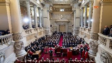 9 - Mattarella partecipa ad Assemblea Generale pubblica e solenne della Corte Suprema di Cassazione