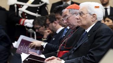 7 - Mattarella partecipa ad Assemblea Generale pubblica e solenne della Corte Suprema di Cassazione