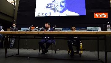 3 - Salvini e Bongiorno la conferenza stampa dopo l'udienza preliminare, le foto