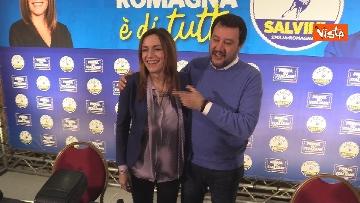 9 - Salvini e Borgonzoni in conferenza stampa sul risultato del voto in Emilia-Romagna, le immagini
