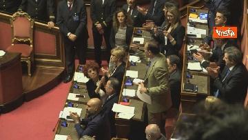 6 - Mozione sfiducia per Toninelli al Senato, le immagini dell'Aula