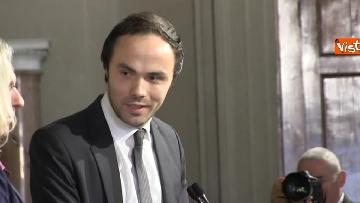 3 - Consultazioni, il gruppo per le Autonomie del Senato a margine del colloquio con Mattarella immagini