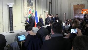 5 - Consultazioni, il gruppo per le Autonomie del Senato a margine del colloquio con Mattarella immagini