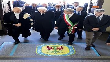 2 - Mattarella all'inaugurazione dell'anno accademico 2018/2019 dell'Università degli Studi della Tuscia
