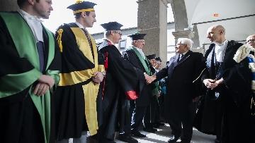 5 - Mattarella all'inaugurazione dell'anno accademico 2018/2019 dell'Università degli Studi della Tuscia