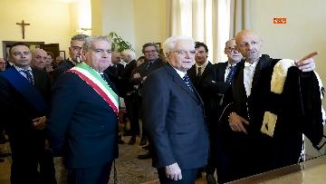 6 - Mattarella all'inaugurazione dell'anno accademico 2018/2019 dell'Università degli Studi della Tuscia