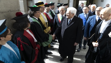 4 - Mattarella all'inaugurazione dell'anno accademico 2018/2019 dell'Università degli Studi della Tuscia