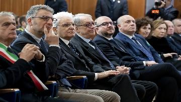 9 - Mattarella all'inaugurazione dell'anno accademico 2018/2019 dell'Università degli Studi della Tuscia