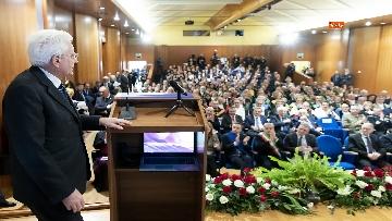 10 - Mattarella all'inaugurazione dell'anno accademico 2018/2019 dell'Università degli Studi della Tuscia