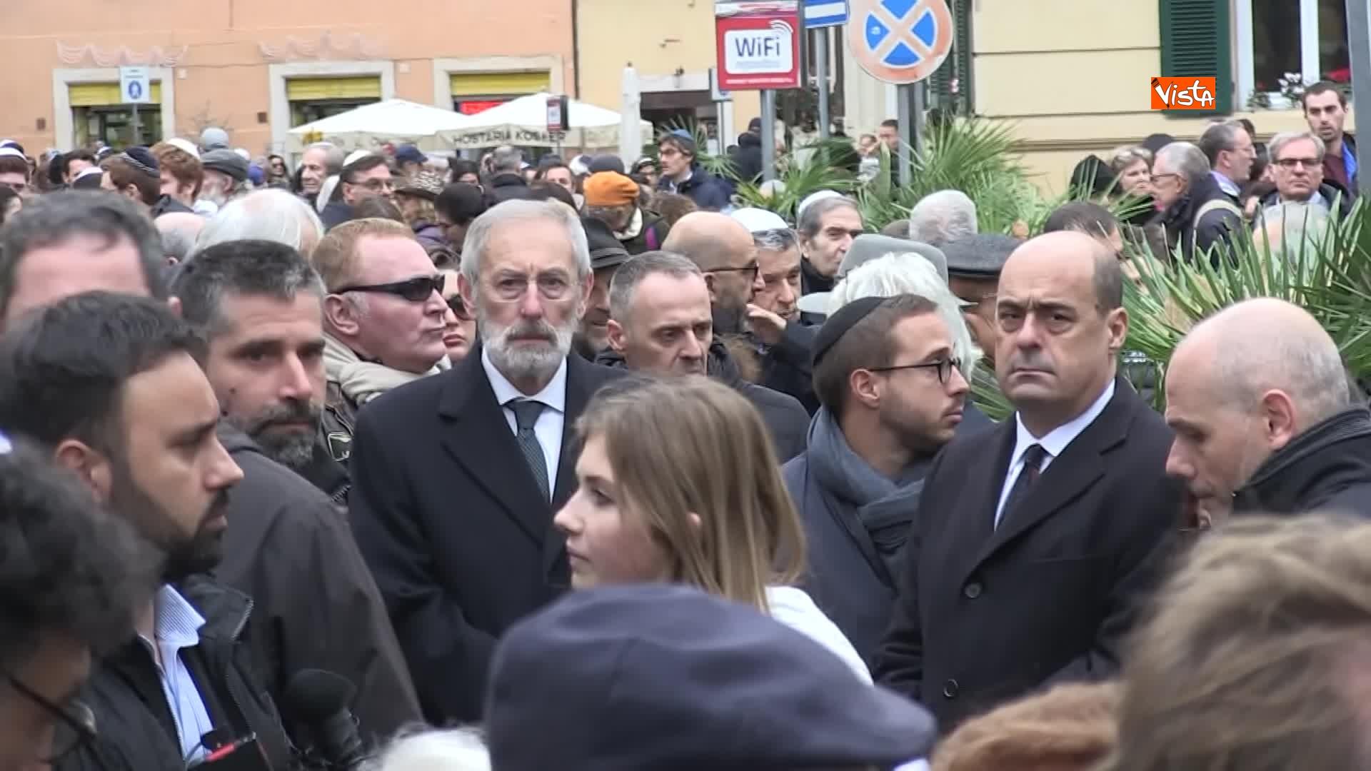 L'ultimo saluto a Piero Terracina al quartiere ebraico di Roma_04
