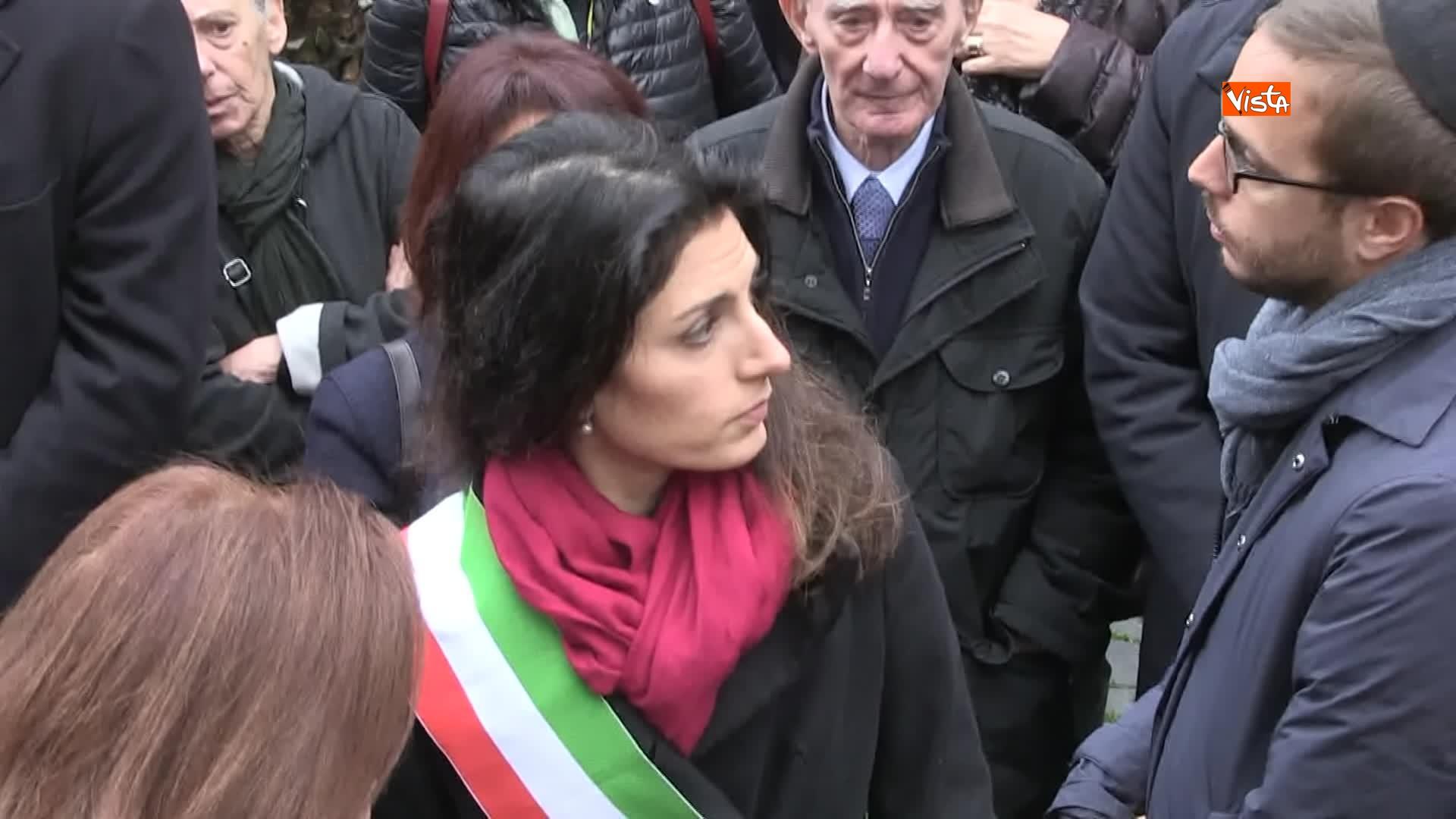 L'ultimo saluto a Piero Terracina al quartiere ebraico di Roma_02