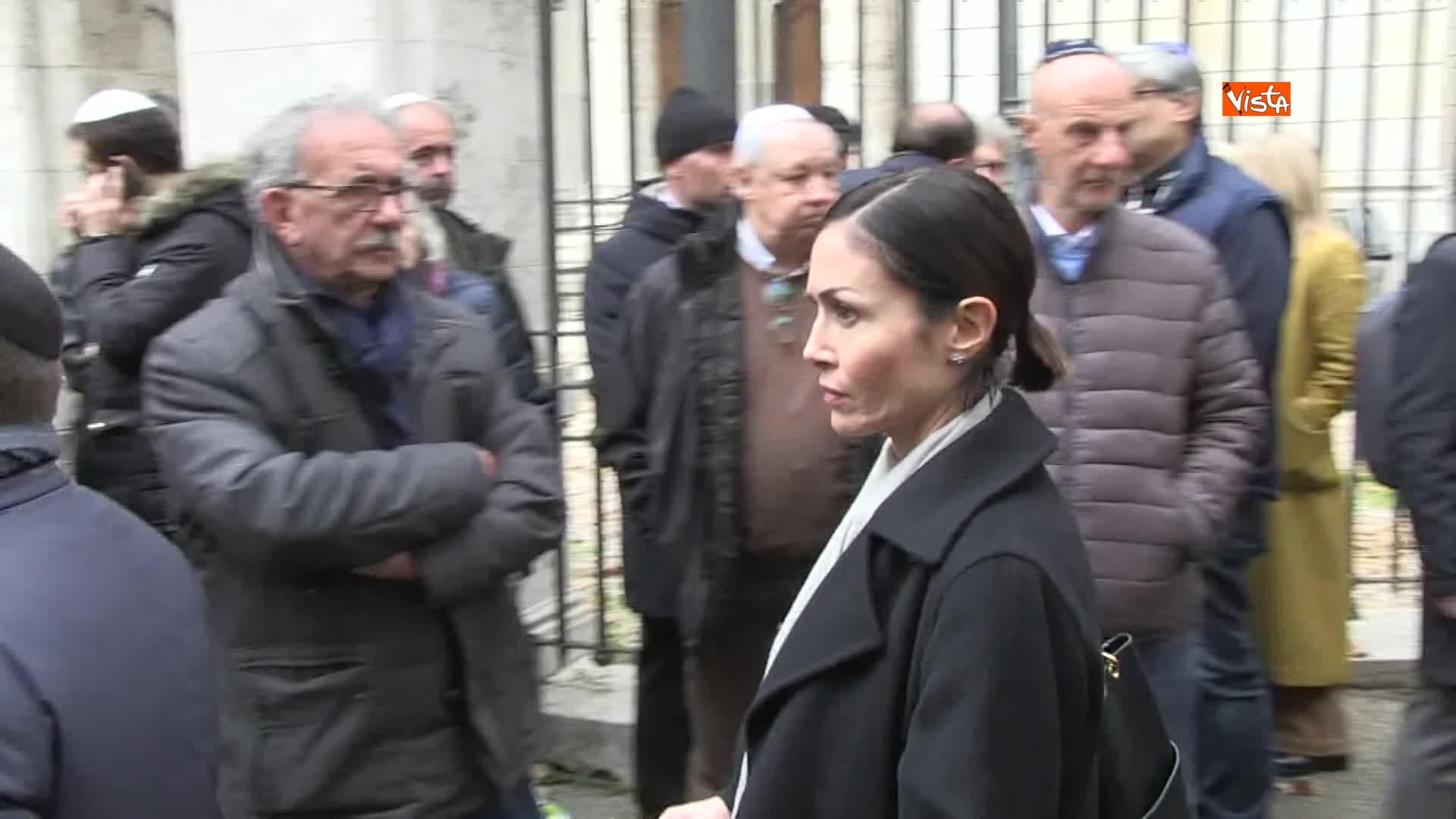 L'ultimo saluto a Piero Terracina al quartiere ebraico di Roma_05