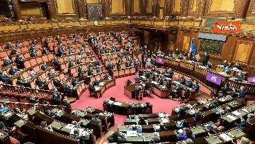 6 - Ecco il Governo Draghi al completo in Aula al Senato il giorno della fiducia