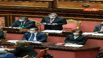 3 - Ecco il Governo Draghi al completo in Aula al Senato il giorno della fiducia