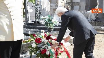 4 - Mattarella rende omaggio alla tomba di Cossiga