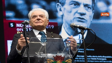 1 - Mattarella alla cerimonia in ricordo di Benigno Zaccagnini