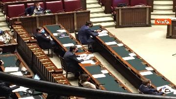 3 - Conte riferisce in Aula Camera su Consiglio Ue, immagini