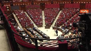 2 - Conte riferisce in Aula Camera su Consiglio Ue, immagini