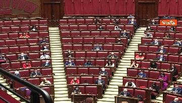 5 - Conte riferisce in Aula Camera su Consiglio Ue, immagini