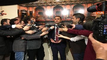 9 - Di Maio dichiara in sala stampa a Montecitorio