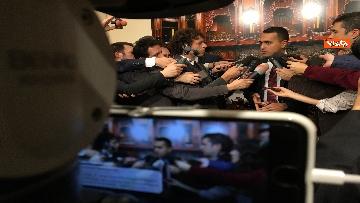 4 - Di Maio dichiara in sala stampa a Montecitorio
