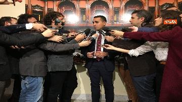 5 - Di Maio dichiara in sala stampa a Montecitorio