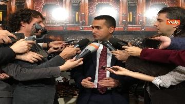 7 - Di Maio dichiara in sala stampa a Montecitorio