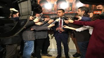 8 - Di Maio dichiara in sala stampa a Montecitorio
