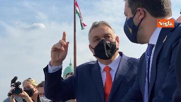 8 - Salvini incontra il primo ministro ungherese Orban e quello polacco Morawieck. Le immagini