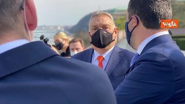 3 - Salvini incontra il primo ministro ungherese Orban e quello polacco Morawieck. Le immagini