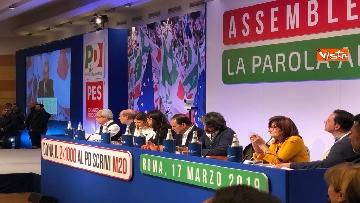 8 - Nicola Zingaretti proclamato segretario del PD dall'assemblea del partito a Roma