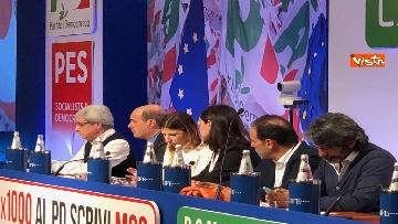 9 - Nicola Zingaretti proclamato segretario del PD dall'assemblea del partito a Roma