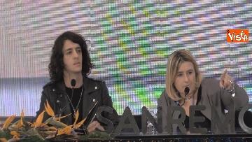 1 - La conferenza stampa di Motta al Teatro Ariston di Sanremo