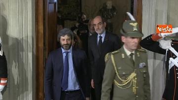 2 - Consultazioni, Roberto Fico al Quirinale per incontrare Mattarella