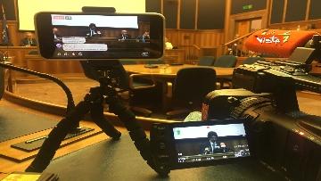 2 - Toninelli in conferenza al Mit stampa su linee guida manutenzione viadotti immagini