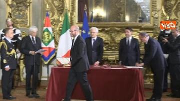 1 - Il giuramento di Fontana, Ministro della Famiglia