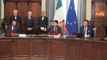 5 - Governo Conte, il primo Consiglio dei Ministri