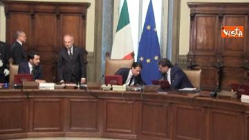 2 - Governo Conte, il primo Consiglio dei Ministri
