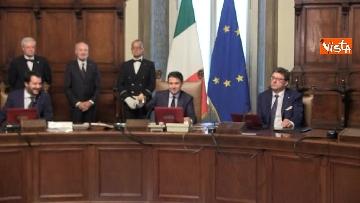 4 - Governo Conte, il primo Consiglio dei Ministri