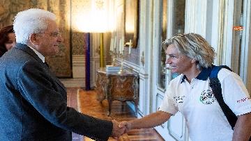 1 - Mattarella incontra al Quirinale l'Associazione Sod Italia