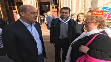 4 - Zingaretti visita la Basilica di San Francesco d'Assisi