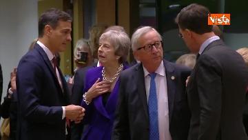 4 - Al via il secondo giorno del Consiglio Europeo, immagini