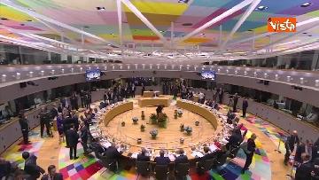 5 - Al via il secondo giorno del Consiglio Europeo, immagini
