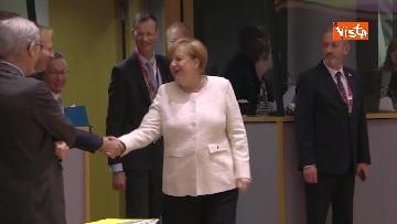 2 - Al via il secondo giorno del Consiglio Europeo, immagini
