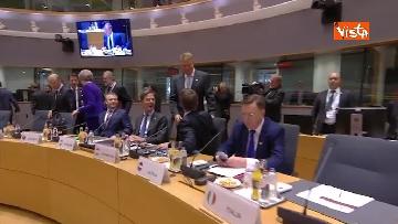 7 - Al via il secondo giorno del Consiglio Europeo, immagini