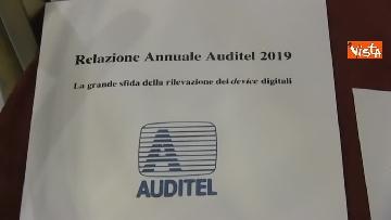 1 - Auditel, presentata la relazione annuale alla Camera dei deputati. Lo speciale